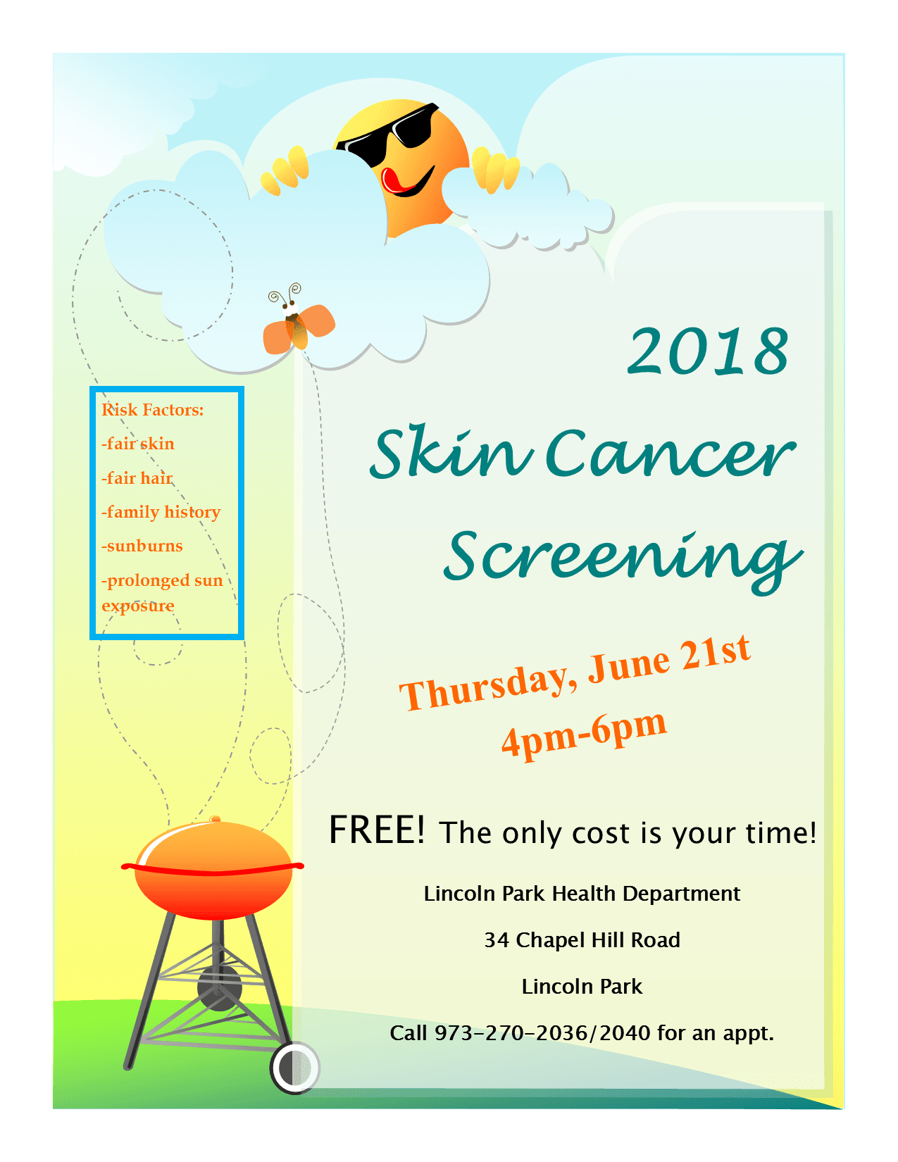 Skin Cancer Screening 2018